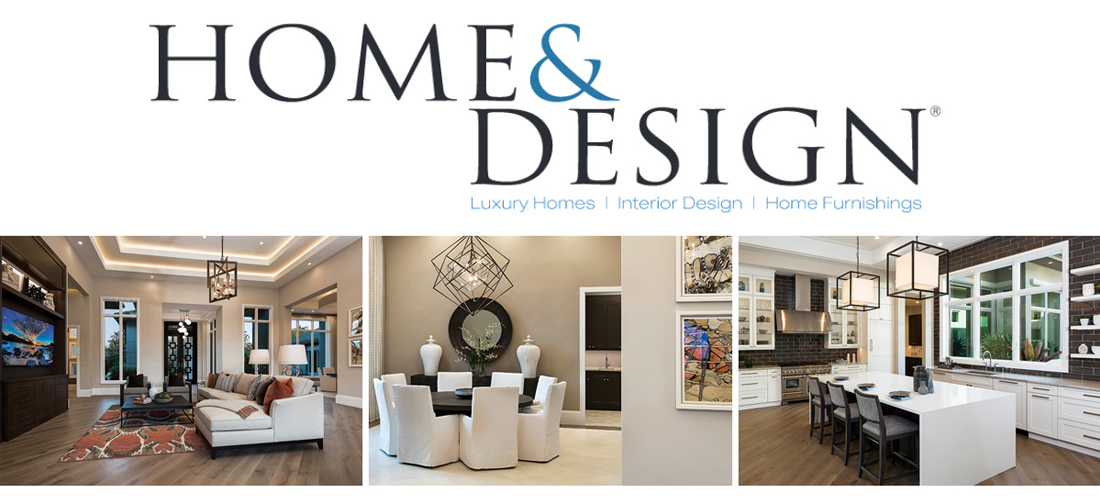 view our article in home design magazine - Home Design Magazine