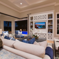 Night Family Room