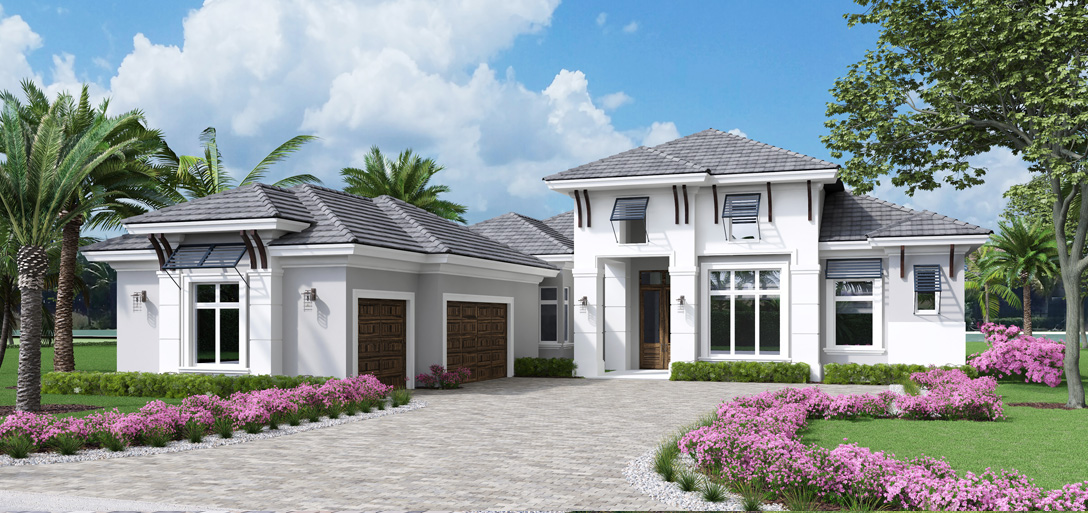 Calabria Model Front Elevation