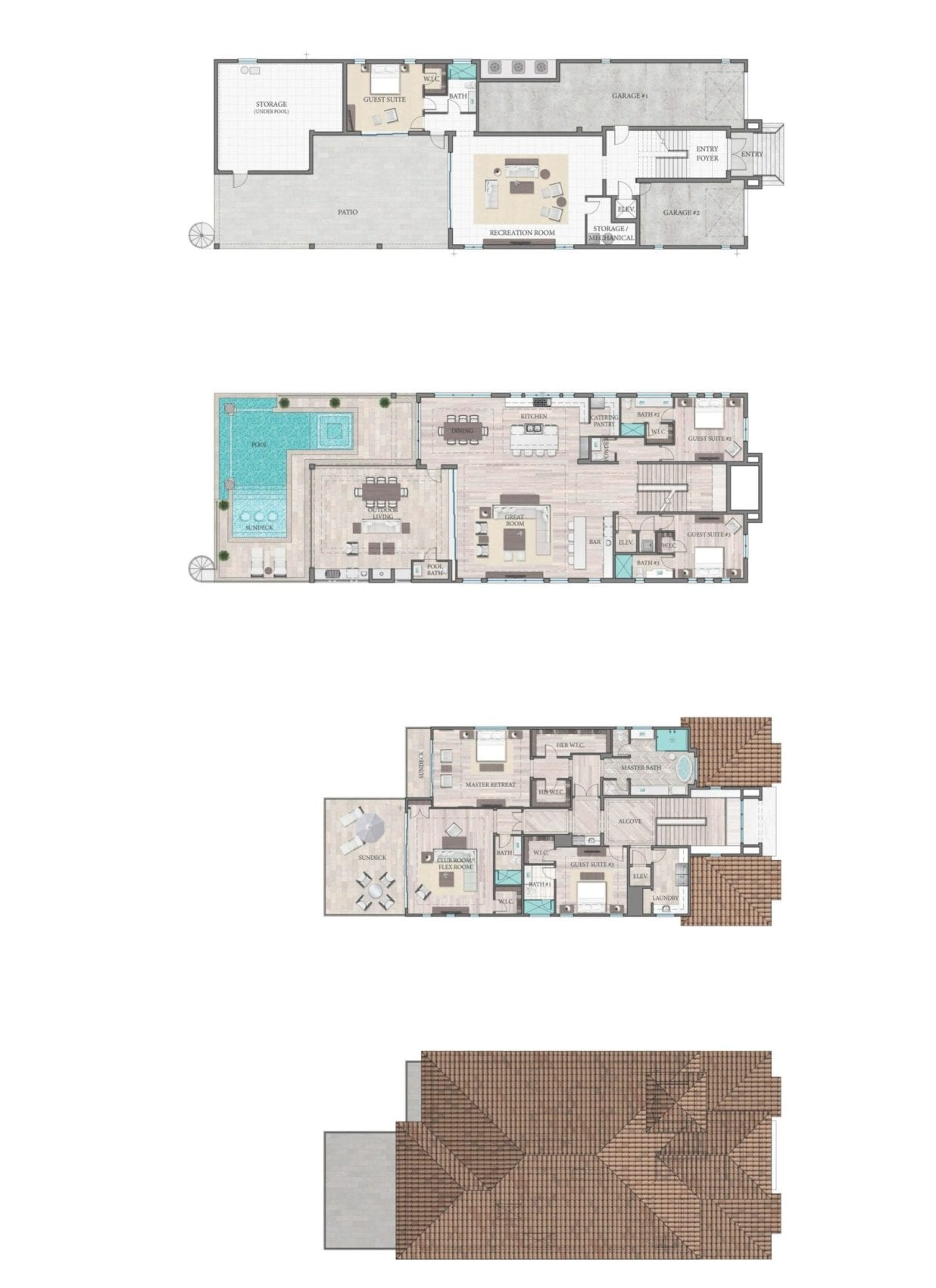 Sabbia Floor Plan