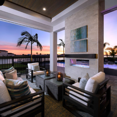 Monaco Outdoor Living Sunset
