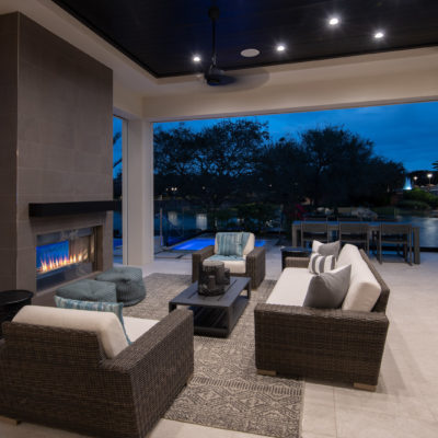 Outdoor Living Dusk
