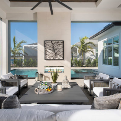 Genova Model Outdoor Living Room 01