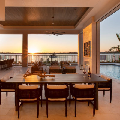 Outdoor Living Sunset